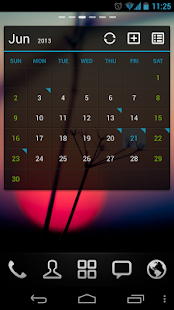 GO Calendar Widget- screenshot thumbnail