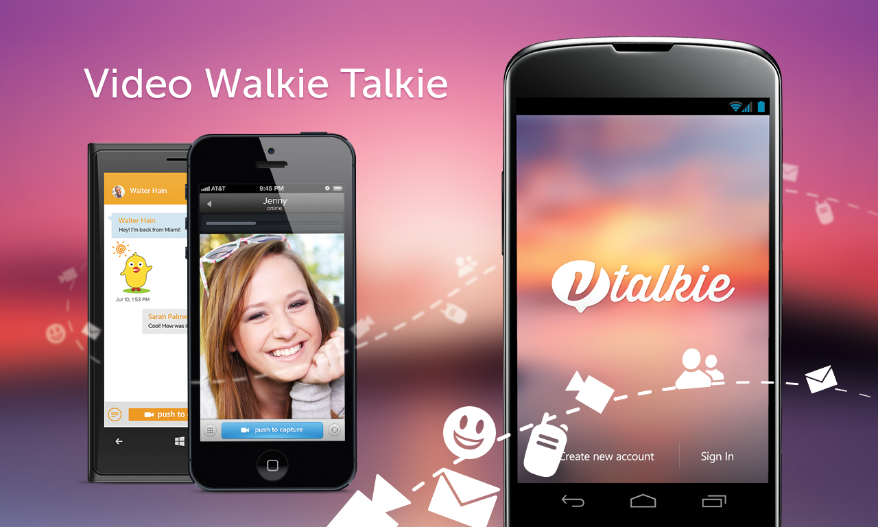Vtalkie - screenshot