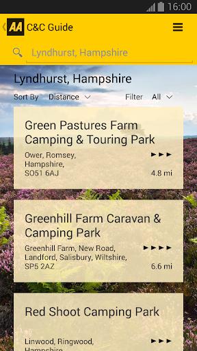 2014 AA Caravan Camping Guide