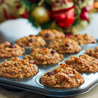Whole Grain Apple Nut Muffins.
