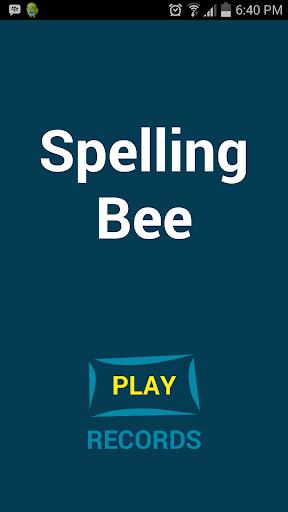 Spelling Bee - Under testing