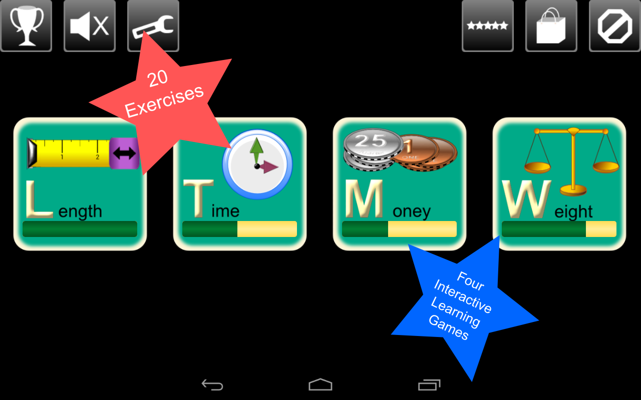 Kids Measurement Science Lite - screenshot