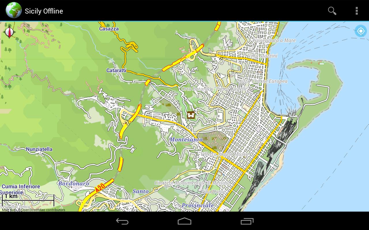verbalone giurisprudenza catania italy map - photo#39
