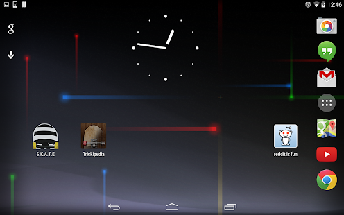 Jelly Bean Analog Clock- screenshot thumbnail