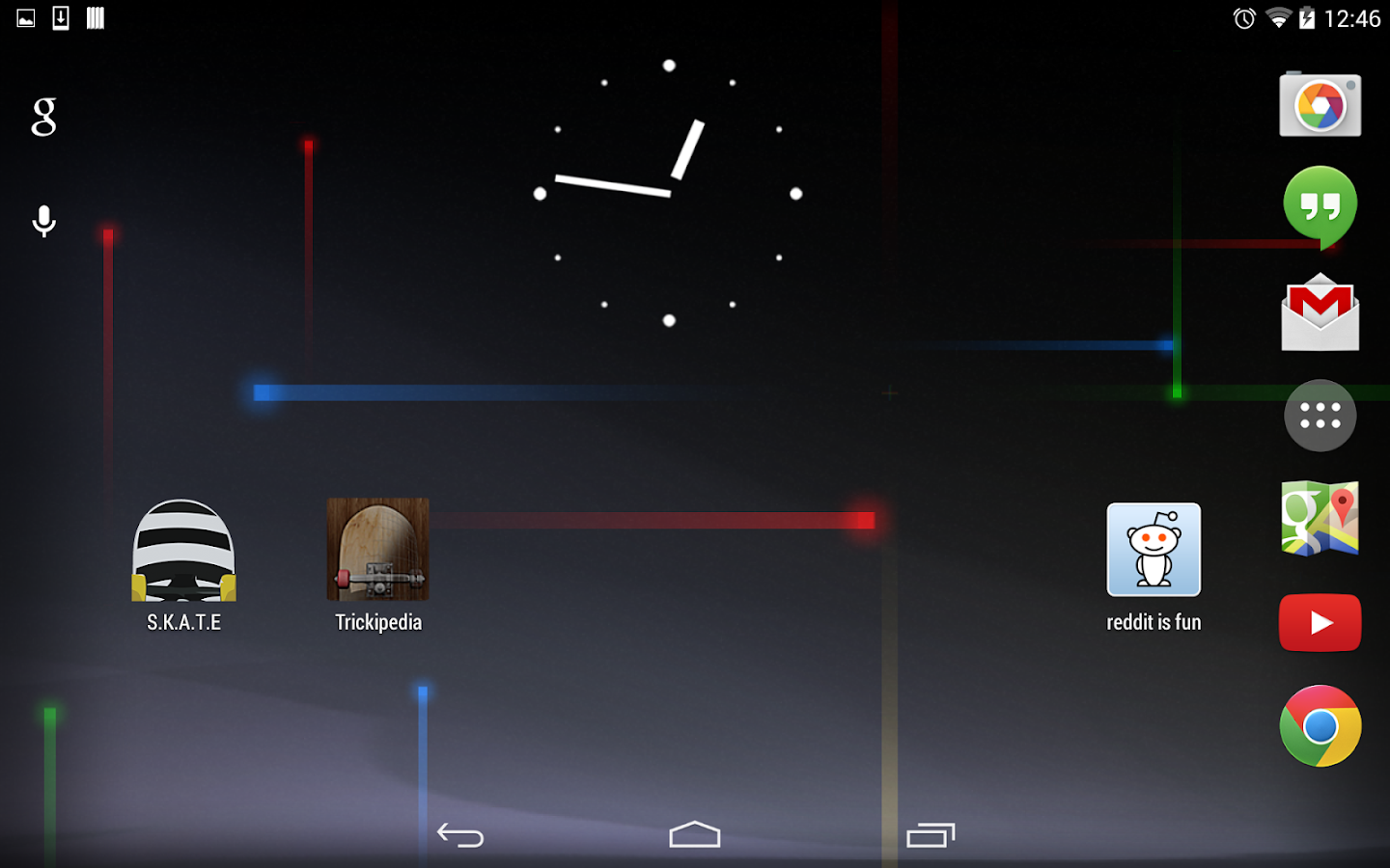 Jelly Bean Clock - screenshot