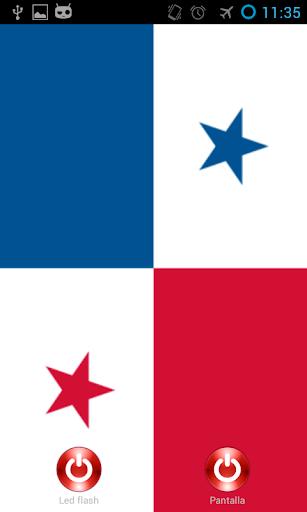 Linterna flash led Panamá