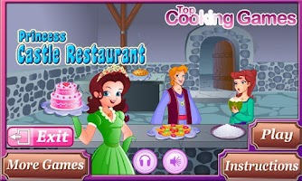 Screenshot of Princess Castle Restaurant