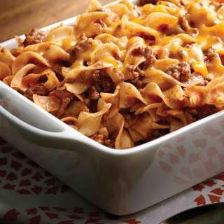 Beef Noodle Casserole.