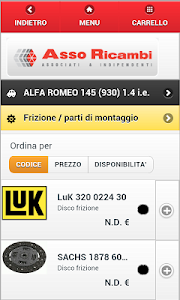 Asso Ricambi b2b screenshot 6