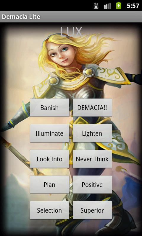 Demacia SoundBoard Lite - screenshot