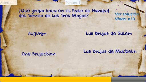 Trivial Potter quiz español