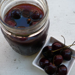 Brandied Cocktail Cherries.