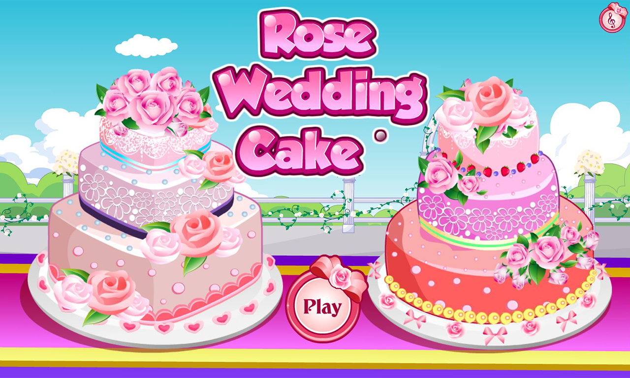 Wedding Cake Baking Games Online