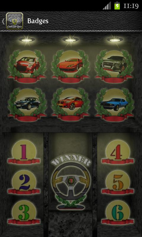 Cool Car Quiz - screenshot