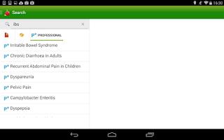 Screenshot of Patient.info