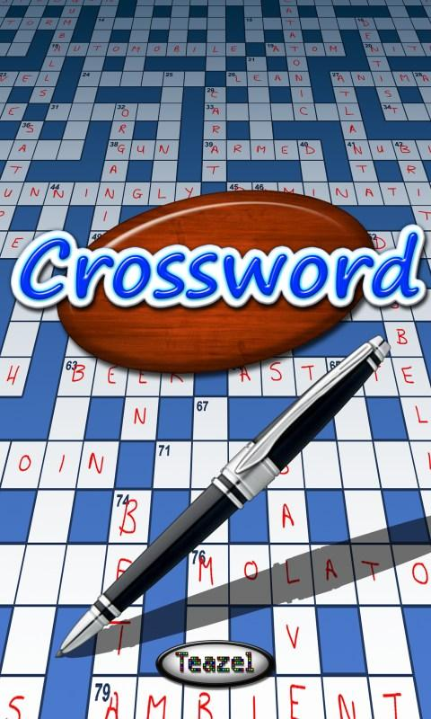 Crossword - screenshot
