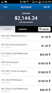 Parsons FCU Mobile- screenshot thumbnail