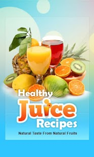 Healthy Juice Recipes Lite screenshot