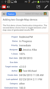 RedminePM - Redmine Client App- screenshot thumbnail