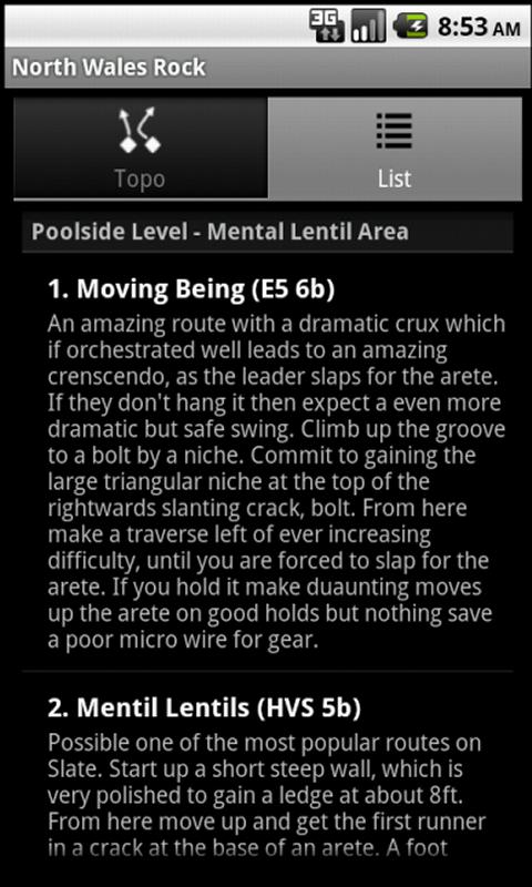 North Wales Rock Climbing Lite- screenshot