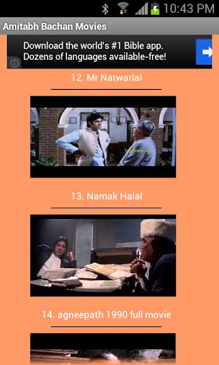 Amitabh Bachan Movies