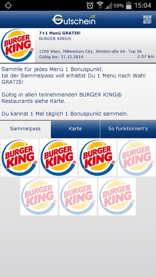 Gutschein.at- screenshot