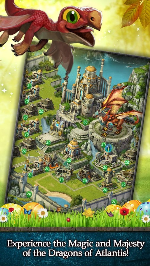 Dragons Of Atlantis Homes