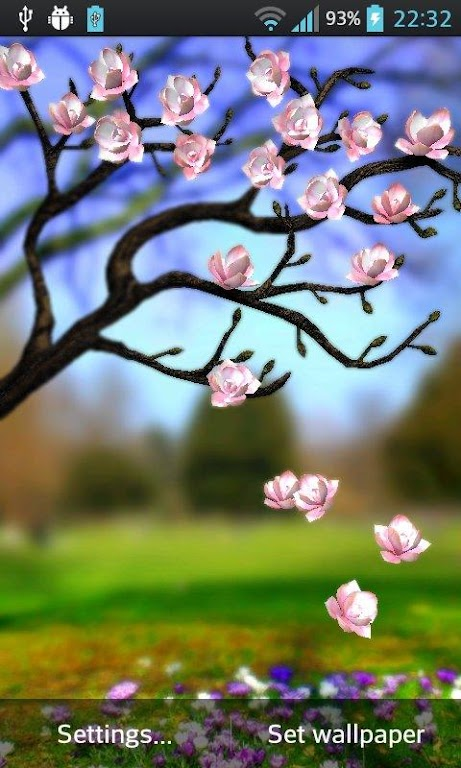 Download Spring Flowers 3D Parallax Pro APK latest version 1 0 4 for  android devices