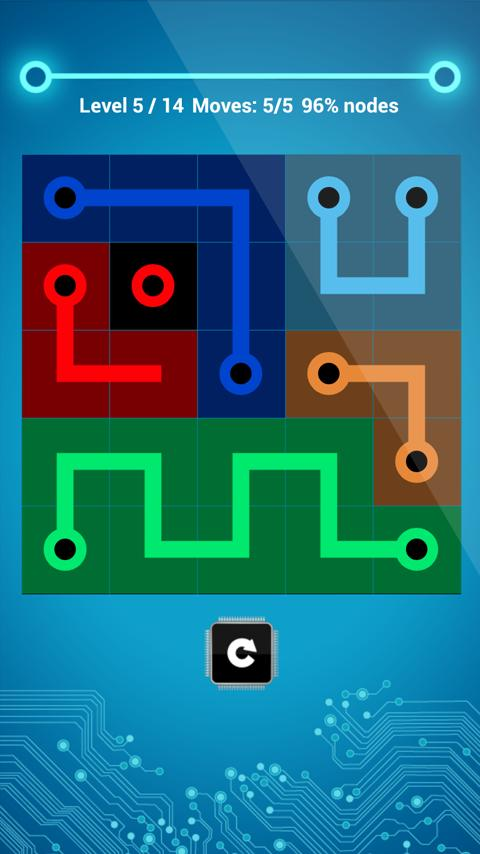 Circuit Flow Free - screenshot