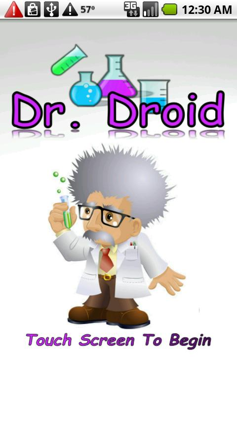 Dr. Droid (Dr Mario game) - screenshot