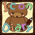 アイコン 日記 フリー(メール・壁紙) icon