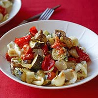 Roasted Ratatouille with Pasta