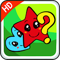 Logic row game for kids icon