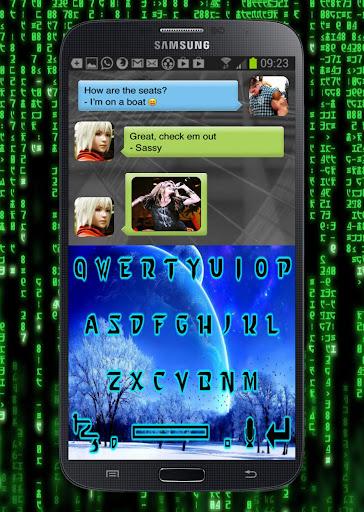 【免費娛樂App】Cool Breeze Keyboard Design-APP點子