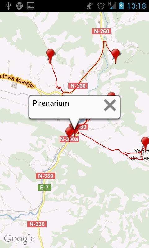 gps.huescalamagia.es- screenshot