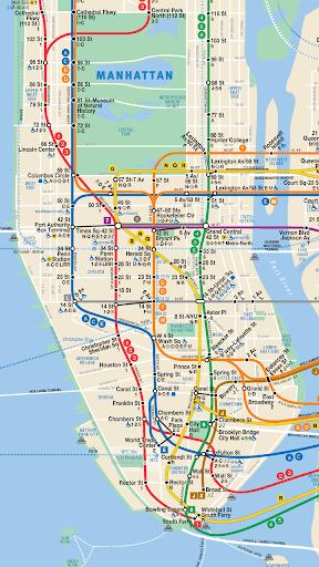 紐約地鐵路線圖