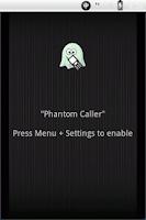 Screenshot of Phantom Caller