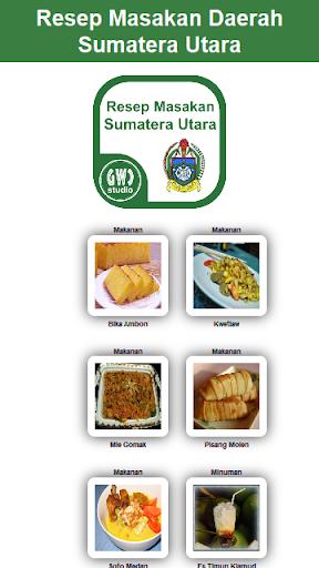 Resep Masakan Sumatera Utara