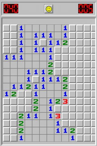 Minesweeper from Windows - screenshot