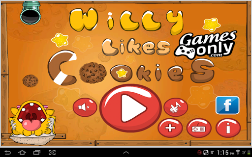 Cookies game for tablets