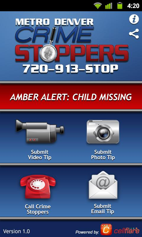Metro Denver Crime Stoppers - screenshot