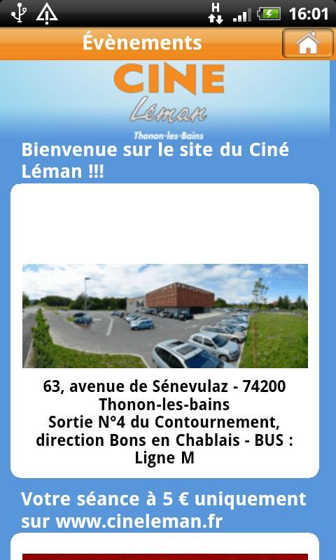 Ciné Léman et Cinéma- screenshot