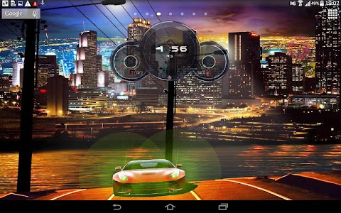 Cars Live Clock Wallpaper screenshot 6