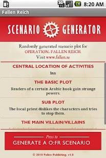 O:FR Scenario Generator- screenshot thumbnail