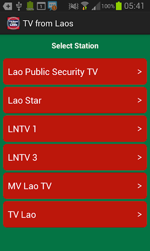 TV from Laos