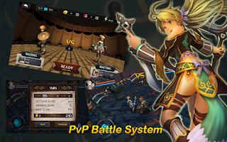 Screenshot of ★ 3D MO RPG Heaven Sword II  ★