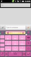 Screenshot of GO Keyboard Happy hour theme
