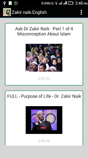 Dr. Zakir Naik English Lecture