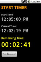 Screenshot of Start Timer