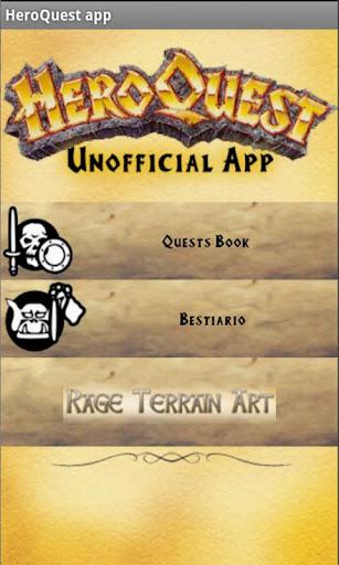 HeroQuest un-official app